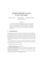 Disjoint Hamilton cycles in the star graph