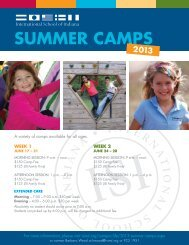 CAMP ReGISTRATION FORM - International School of Indiana