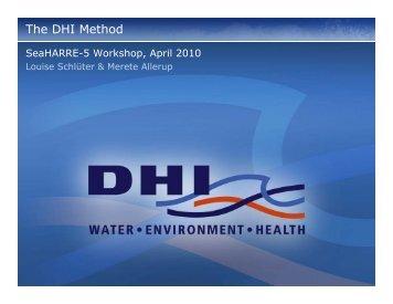 The DHI Method - Ocean Color