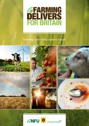 Farming Delivers for Britain - campaign report - National Farmers ...
