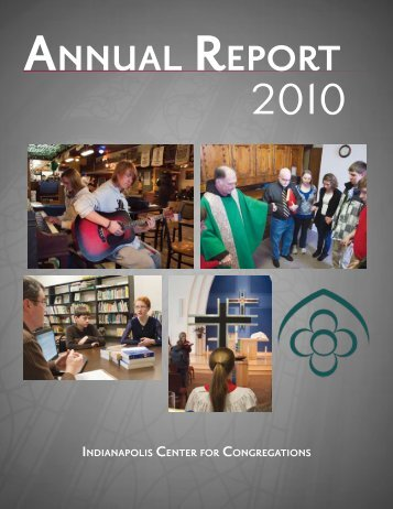 AnnuAl RepoRt - Center for Congregations