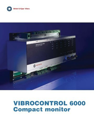VIBROCONTROL 6000 Compact monitor - RoViTec GmbH