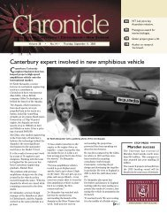 Canterbury expert involved in new amphibious vehicle