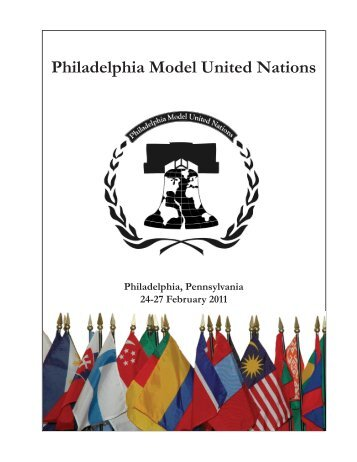 Philadelphia Model United Nations - IDIA