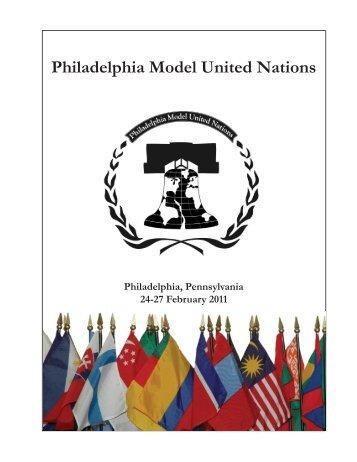 Philadelphia Model United Nations - IDIA
