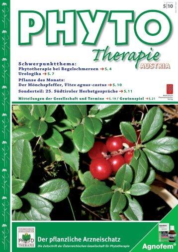 Therapie - Phytotherapie Österreich