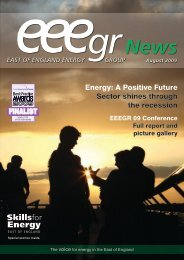 August 2009 - East of England Energy Group