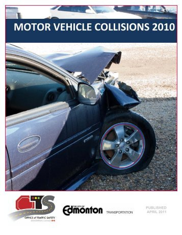 Motor Vehicle Collisions 2010 - City of Edmonton