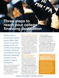 Three steps to reach your college financing ... - Greg Brennan