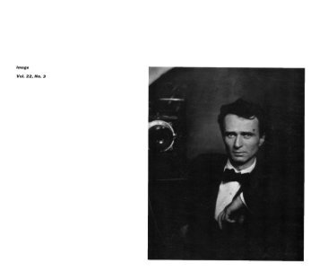Untitled - Issues of Image Magazine - George Eastman House