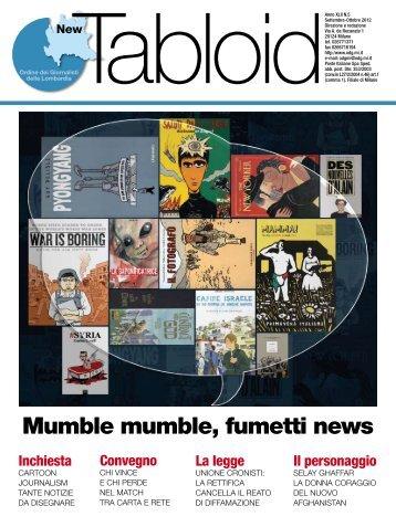 New Tabloid n°5 - Ordine dei Giornalisti