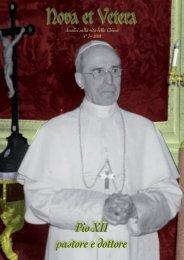 n°7 - Fraternità Sacerdotale di San Pio X