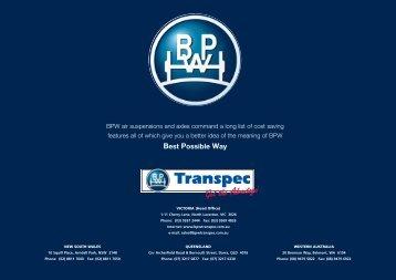 BPW Air-Light Brochure - Well Interparts Online