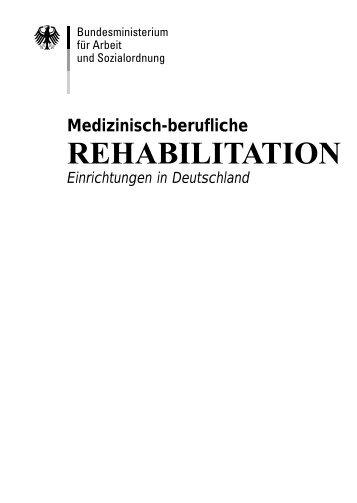 Medizinisch-berufliche Rehabilitation - Schwerbehindertenvertretung