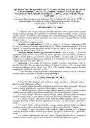 taisyklės - Lietuvos Respublikos muitinė