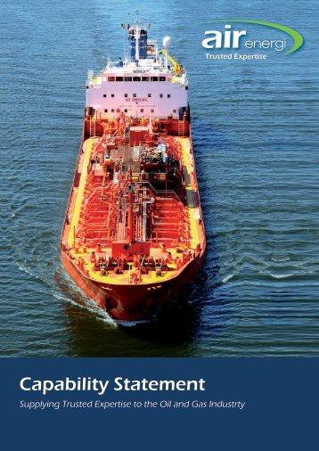 Capability Statement - Air Energi