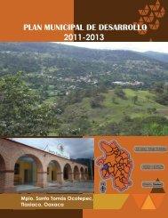 PLAN MUNICIPAL DE DESARROLLO - Secretaria de Finanzas
