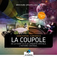 brochure groupes 2013 - La Coupole