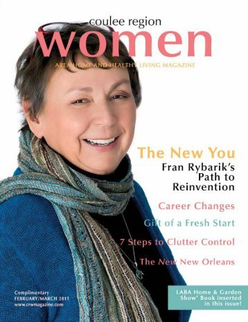 February/March - Coulee Region Women's Magazine