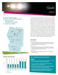 AB SK MT - Connacher Oil and Gas