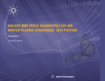 Agilent 8800 Triple Quadrupole ICP-MS - spectroscopyNOW.com