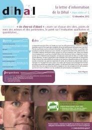 newsletter dihal HS 5 - 12 dec 2012_Mise en page 1 - Ministère de l ...