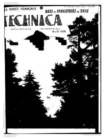 Revue Technica, année 1938, numéro Hors-série 1 - Histoire de l ...