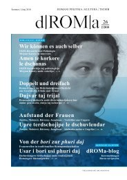 Download d|ROM|a 26/10, Sommer | linaj 2010 als ... - Roma-Service