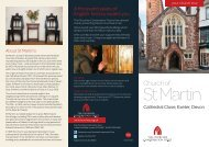 St Martin's Church, Exeter, Devon - The Churches Conservation Trust