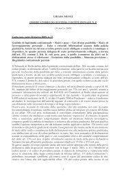 osservatorio giur cost 8 310309 - Il diritto amministrativo