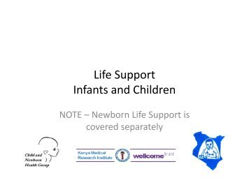 Life Support Infants and Children - iDOC Africa