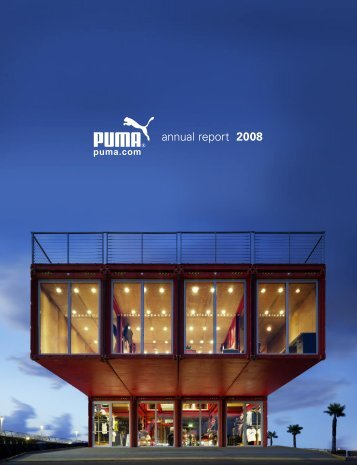 annual report 2008 - About PUMA