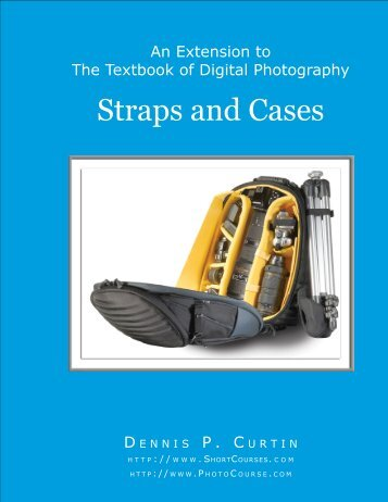 Straps and Cases - PhotoCourse