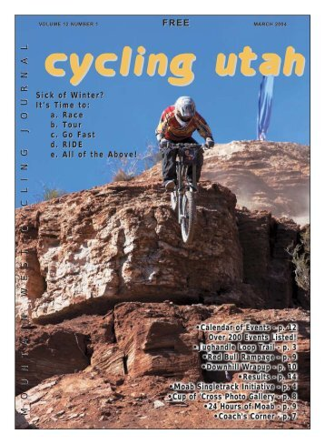 March 2004 PDF - Cycling Utah