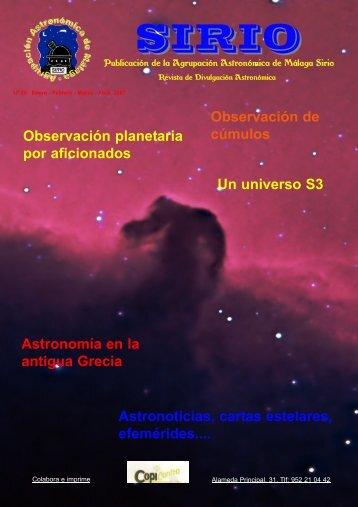 """Descarga directa - Agrupación Astronómica de Málaga """"Sirio"""""""