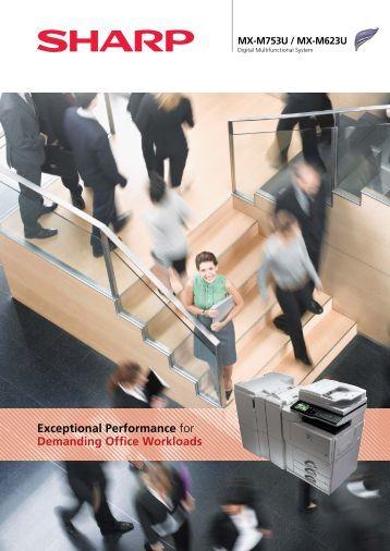 Download Sharp MX-M753U Brochure - Photocopiers UK