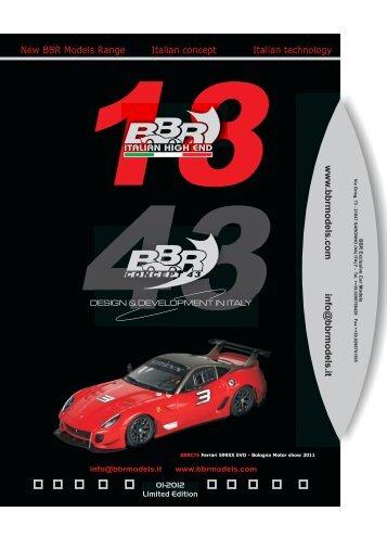 CONCEPT A5 PER SITO - BBR Car Models
