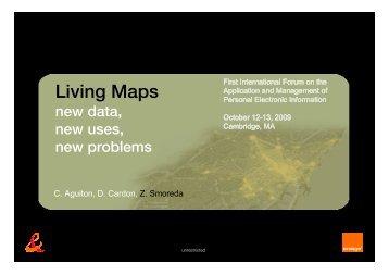 Presentation - MIT SENSEable City Lab