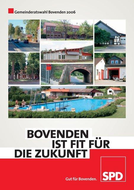 Wahlprogramm der SPD für den Gemeinderat Bovenden 2006