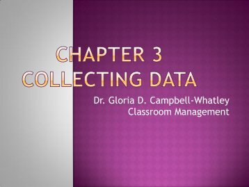 Chapter 3 & 4 Collecting and Graphing Data