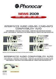 Chrysler 300M dal 2004 Phonocar 4//726 Cavo Adattatore Autoradio da ISO a Origin