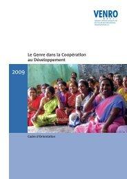 Le Genre dans la Coopération au Développement - Venro