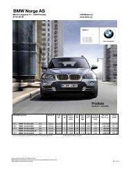 E70 - X5 04.2009 PDF grunnlag - BMW