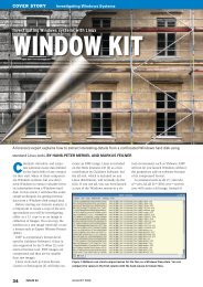 Investigating Windows systems with Linux - Linux Magazine