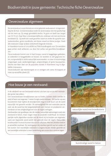 Biodiversiteit in jouw gemeente: Technische fiche ... - Natuurpunt