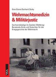 Wehrmachtsmedizin & Militärjustiz - VSA Verlag