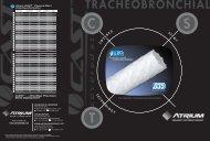 TRACHEOBRONCHIAL - Atrium Medical Corporation