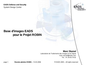 Marc Sturzel (EADS)