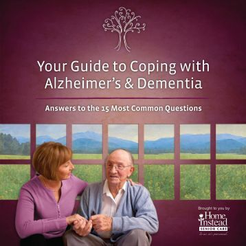 Help For Alzheimers Families Guide - Home Instead Senior Care