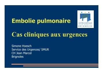 Cas cliniques - SMUR BMPM